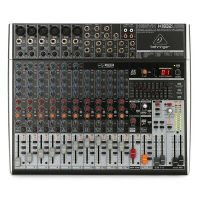 Behringer Xenyx X1832USB Mixer With USB And Effects With One-knob Compression • 323.55£