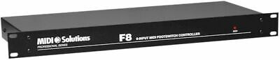 Midi Solutions- F8 Footswitch / Midi Converter • 254.13£