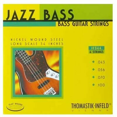 Thomastik-Infeld Jazz Flat Wound Bass Strings - 4-String 32  Long Scale .043-.10 • 60.20£