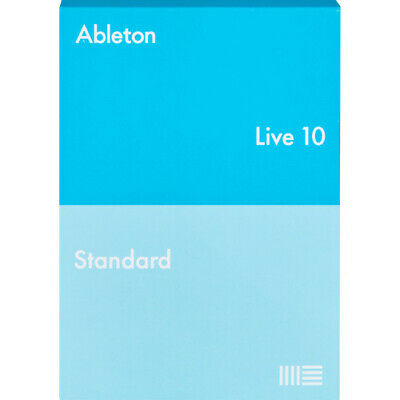 Genuine Ableton Live 10 Standard (mac/win) Daw License Transfer • 289£