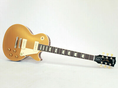 New Gibson USA Les Paul Standard 50s P90 Gold Top Electric Guitar From Japan • 2,006.26£