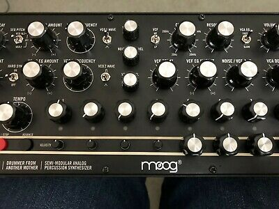 Ultimate *UNIQUE* MOOG DFAM Drummer From Another Mother Drum Analog Sample Pack! • 9.99£