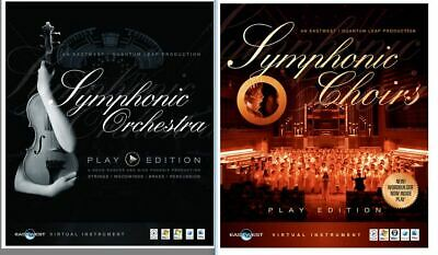 East West Symphonic Orchestra Gold & Symphonic Choirs Gold, Two Genuine Licences • 224.99£