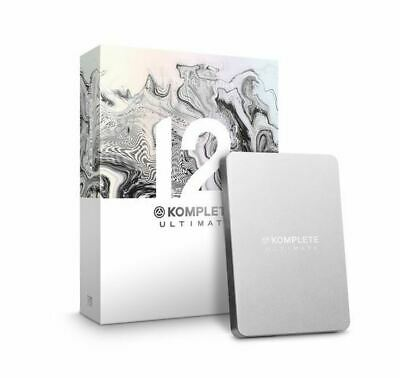 Native Instruments Komplete 12 Ultimate Collector Collector's Edition, Boxed,New • 849.99£