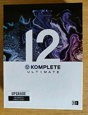 Native Instruments Komplete 12 Ultimate, HDD Only/NO License • 74.99£