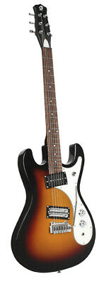 DANELECTRO 64XT 3 Tone Burst Classic 22 Frets Electric Guitar -Authorized Dealer • 381.85£