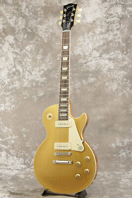 New Gibson Les Paul Standard 50s P-90 Gold Top Electric Guitar From Japan • 1,820.32£