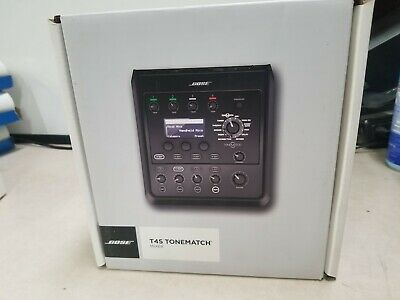 Bose Professional T4S ToneMatch Compact 4-Channel Digital Mixer New Open Box  • 361.38£