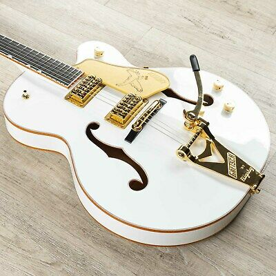 Gretsch G6136T-WHT Players Edition Falcon Guitar, Filter'Tron Pickups, White • 2,696.03£
