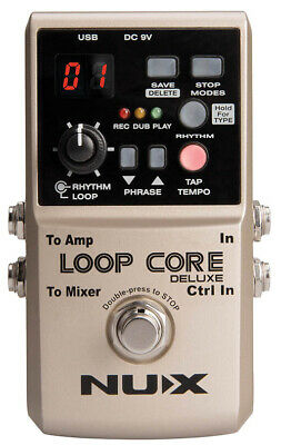NUX Loop Core Deluxe 24-bit Looper Pedal Bundle • 117£