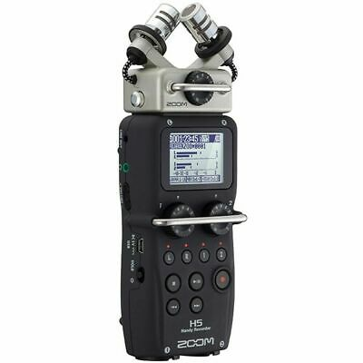 Zoom H5 Handy Recorder 24-bit/96kHz, 4-in/2-out Modular Field Recording System • 234£