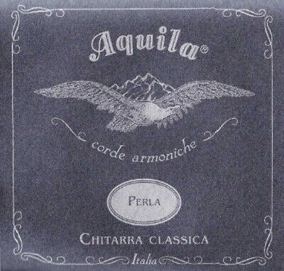 Aquila Perla Normal Tension 6 Classical Guitar Strings 37C New Full String Set • 8£