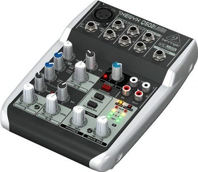 Premium 5 Input 2 Bus Mixer With XENYX Mic Preamp/Compressor/British EQ And • 49.75£