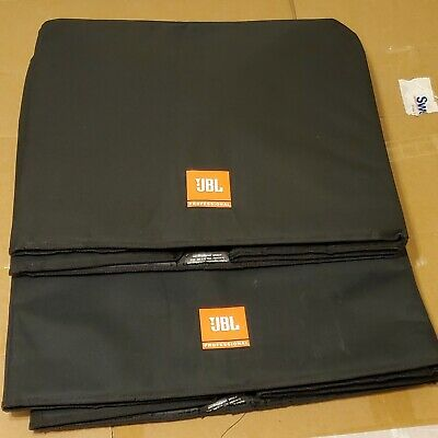 (2) Used JBL EON618S-CVR Deluxe Padded EON618S Subwoofer Speaker Covers • 108.28£
