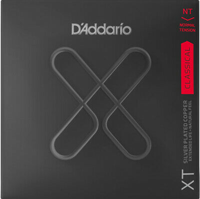 D'Addario XT Silver Plated Copper Classical 6 Guitar Strings, Normal String Set • 16.47£