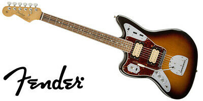NEW Fender Kurt Cobain Jaguar Left-Hand 6 String Electric Guitar • 1,345.95£