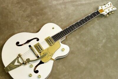 New Gretsch G6136T-WHT Players Edition Falcon Electric Guitar From Japan • 3,586.02£