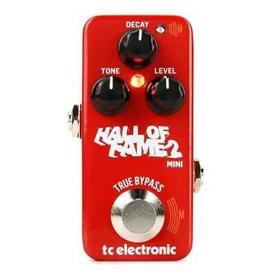 TC Electronic Hall Of Fame 2 Mini Reverb Guitar Effects Pedal • 98.68£