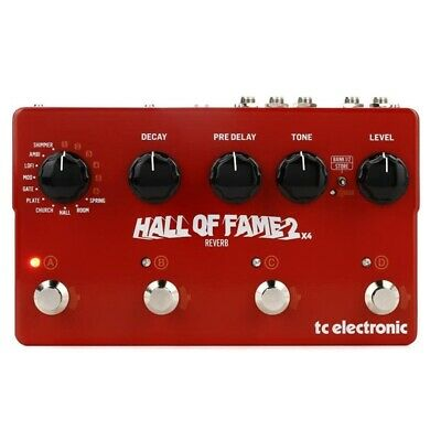 TC Electronic Hall Of Fame 2 X4 Reverb Pedal With 4 MASH Footswitches  • 249.29£