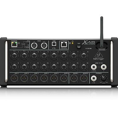 Behringer X Air XR18 18-Input Digital Mixer For IPad/Android Tablets WiFi USB • 403.10£