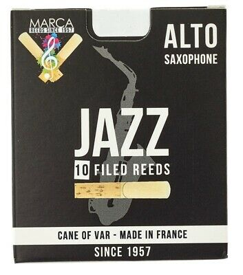 Marca Ance Sax Alto Jazz Filed 3.5 Box Da 10 • 25.83£