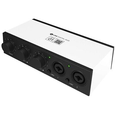Bandlab Link Digital DUO USB Audio Interface - Portable Studio Recording Audio I • 79.10£