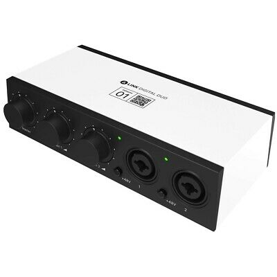 Bandlab Link Digital DUO USB Audio Interface - Portable Studio Recording Audio I • 75.99£