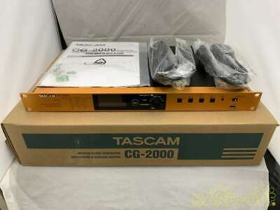 TASCAM CG-2000 Clock Generator AC100V Free Shipping Working Properly  (d418 • 4,249.27£