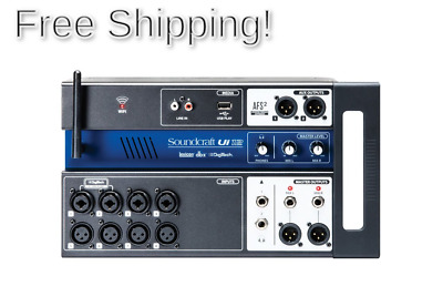 Soundcraft Ui12 Remote-Controlled 12-Input Digital Mixer 12-channel • 310.18£