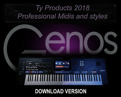 Yamaha  GENOS Professional Styles And MIDIS .....DOWNLOAD...... • 17.99£
