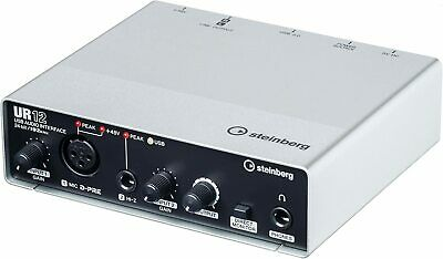 Steinberg UR12 USB Audio Interface Includes Cubase AI - BRAND NEW • 99£