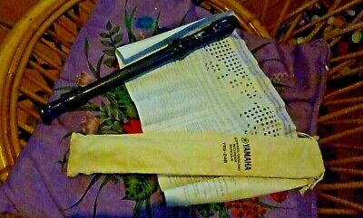 Yamaha Soprano Descant Recorder Baroque Yrs-24b Made In Japan • 6.44£