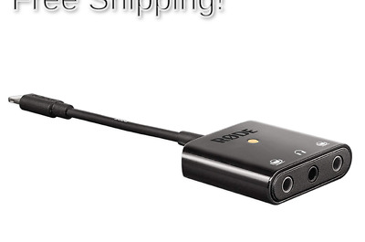 Rode SC6-L Dual TRRS Input Lightning Mobile Interface For Apple IOS Devices • 73.21£