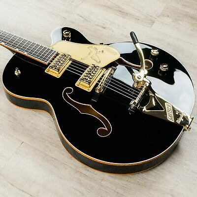 Gretsch G6136T-BLK Players Edition Black Falcon Guitar W/ Bigsby, Filter'Trons • 2,683.22£