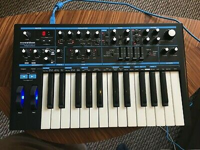 Novation Bass Station Mk II Mark 2 Bassstation Mono Synthesizer Synth W/ Bag • 250£