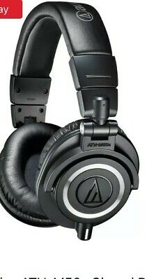 Audio-Technica ATH-M50X Wired Headphones - Black - Great Condition With Bag Etc! • 33£