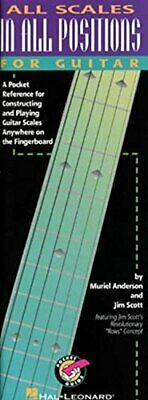 All Scales In All Positions For Guitar Tab Divers Hal Leonard Publications • 23.45£
