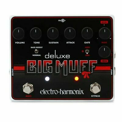 Electro-Harmonix Deluxe Big Muff Pi Fuzz Pedal With Mid-Shift - Guitar Effects • 168.45£