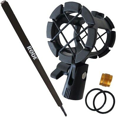 Rode Micro Boompole + Keepdrum PCMH1 Spider Elastic Mount Shock Mount • 69.05£