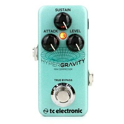 TC Electronic HyperGravity Mini Compressor Pedal • 109.38£