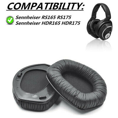 Replacement Earpads Cushions For Sennheiser HDR165 HDR175 RS165 RS175 Headphones • 14.99£