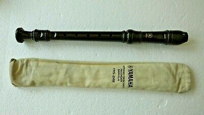 Genuine Yamaha YRS-24B Soprano / Descant Recorder With Baroque Fingering Withbag • 6.99£