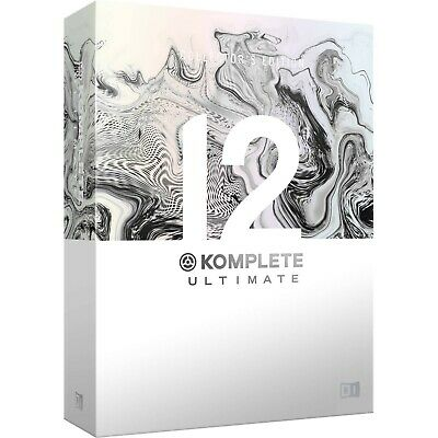 Native Instruments Komplete 12 Ultimate Collectors Edition, Upgrade From KU 8-12 • 345£
