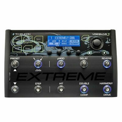 TC-Helicon VoiceLive 3 Extreme Vocal Effects Processor With Harmony Generator • 828.43£