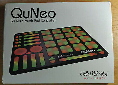Keith Mcmillen QuNeo, Boxed, Warranty • 399.99£