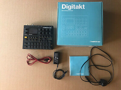 Elektron Digitakt Great Condition - Boxed W/ Cables • 555£