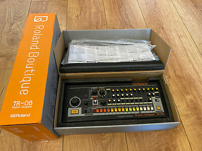 Roland TR-08 Boutique Drum Machine BOXED With Instructions • 299£