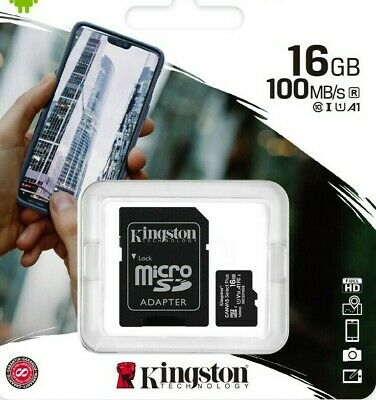 16GB Micro SD Card Memory For ZOOM F1-SP,F1-LP Field Recorder • 4.49£