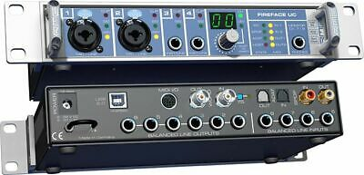 RME Fireface UC | USB Soundcard | TotalMix | 36ch | 192Khz | FREE Shipping • 595.63£