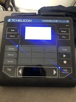 TC Helicon Voicelive Touch 2 Vocal Processor & Looper • 280£